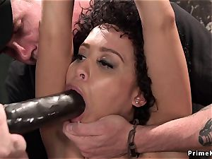 trussed up ebonies flogged on Sybians