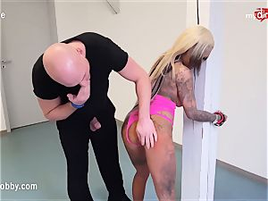 My dirty pastime - trussed up and plunged with pink cigar